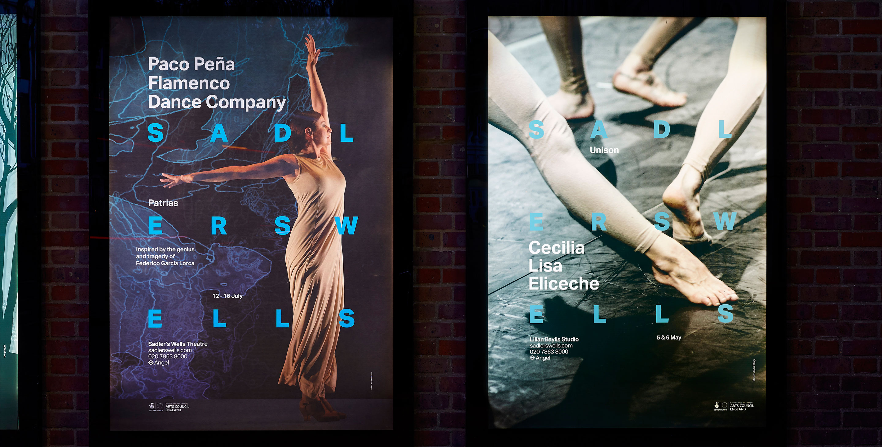 Sadlers Wells performance posters