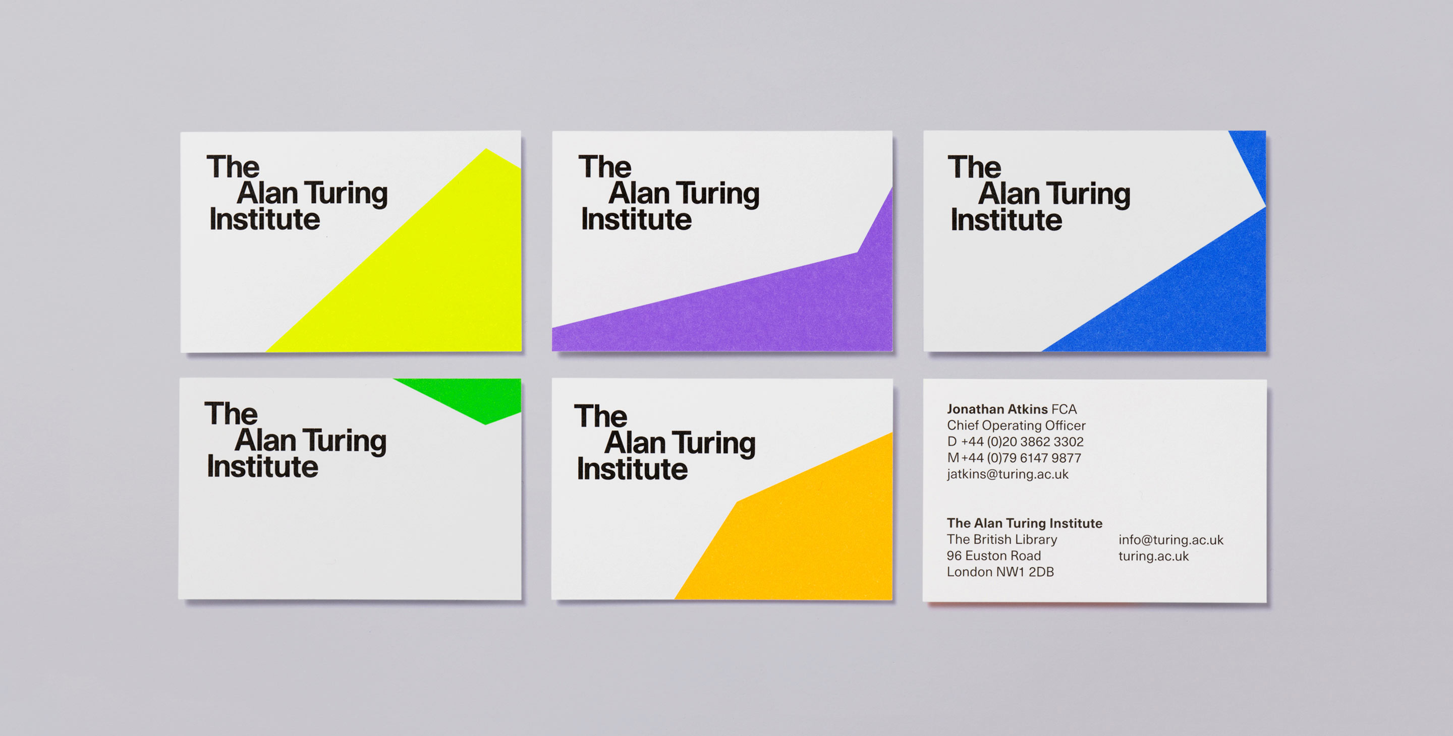The Alan Turing Institute business cards