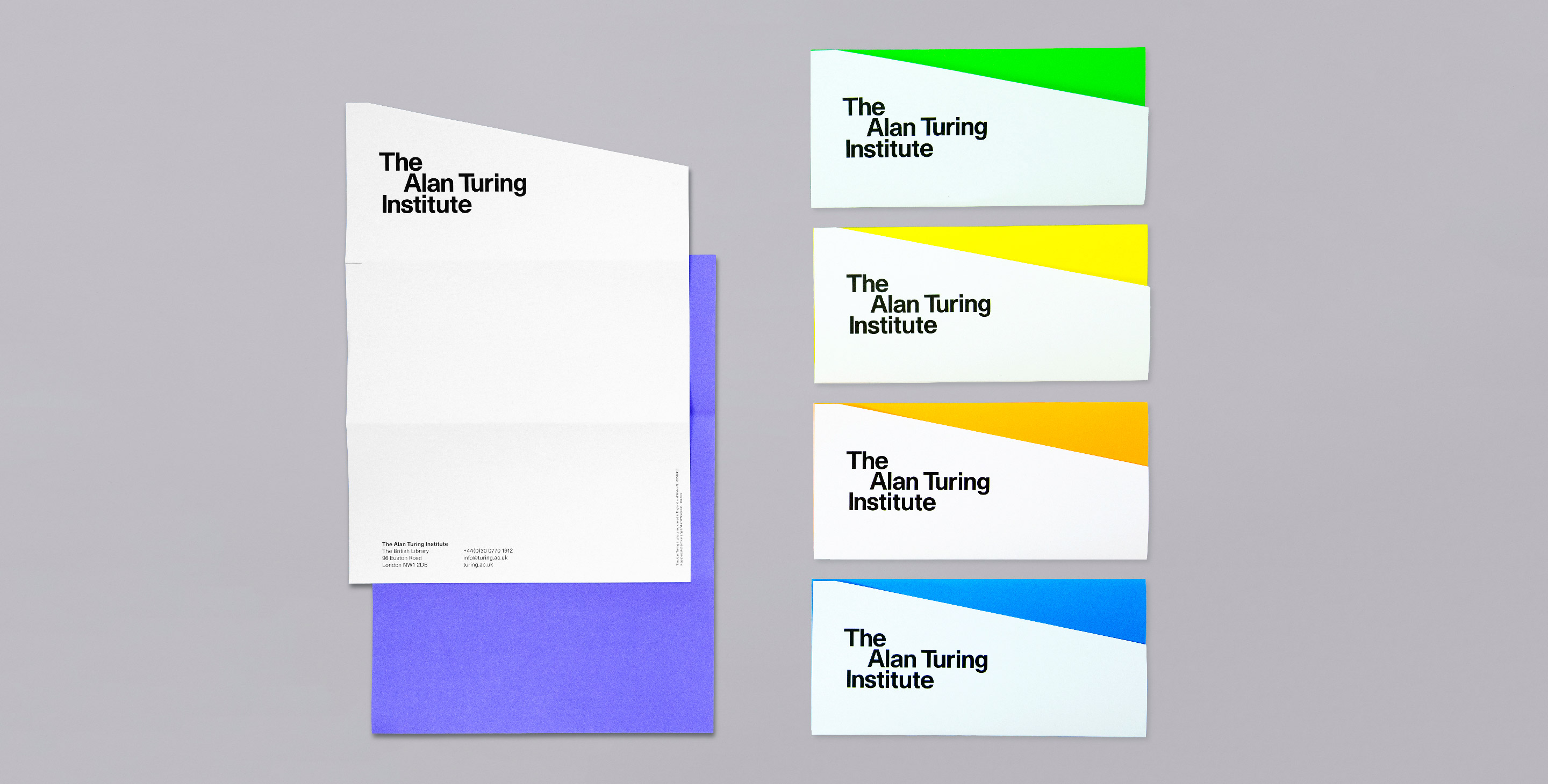 The Alan Turing Institute stationery set